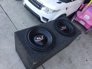 """ROCKFORD FOSGATE 12""""INCH HX2 DUAL 4OHM SUBWOOFERS for Sale in Ontario, CA"""