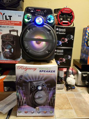 Bluetooth speaker new rechargeable battery for Sale in Lake Elsinore, CA