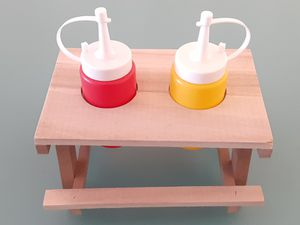 Condiment Picnic Table for Sale in El Paso, TX