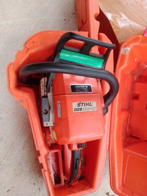 Chainsaw 18 in this machine is a collector's item and a beast I am selling for $250 no less if I do not sell it that's okay the case included for Sale in San Antonio, TX