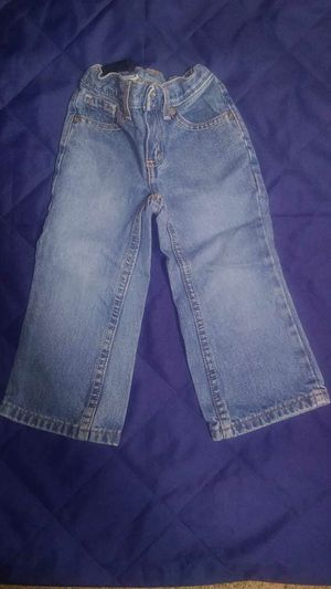 SZ 2T - adjustable waist jeans for Sale in Combined Locks, WI