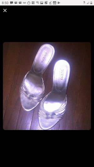 Guess heels slippers size 8 for Sale in Riverside, CA