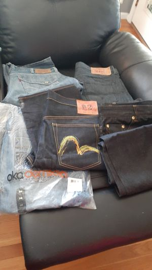 Levi's rich yung akadmik 36 and 38 size for Sale in Revere, MA