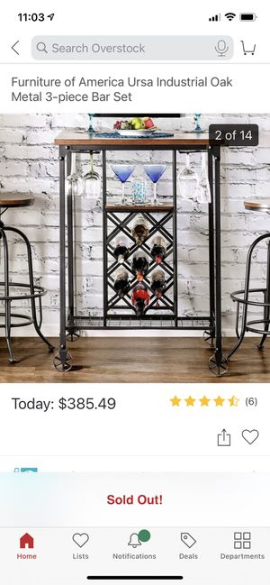 3 Piece Bar Set for Sale in Chicago, IL