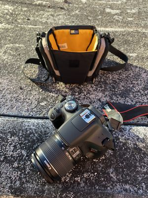 Canon rebel t7 with WiFi and lens for Sale in Long Beach, CA