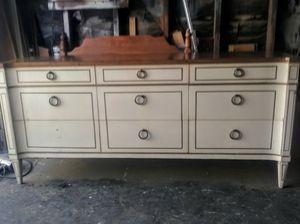 Vintage Mid Century 1963 Veneto Dresser Nine Drawers By Drexel Furniture for Sale in Whittier, CA
