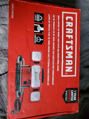 3000 Lumen Craftsman work light Was multi direction lady I mķ k ķù6 for Sale in Lacey, WA