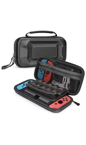 Moocoo Carrying Case for Nintendo Switch, Dual Protection Switch Hard Cover Portable with Large Capacity Protective Travel Shell for Nintendo Switch for Sale in New York, NY