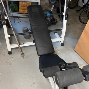 bench and weight for Sale in Revere, MA