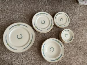 Myott Staffordshire -54 pieces - antique fine china - Athens pattern for Sale in UPPER ARLNGTN, OH