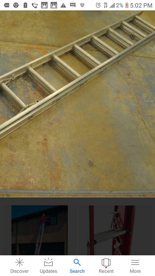 20 ft aluminum extension ladder