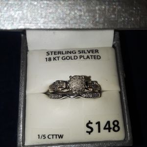 Engagement ring & Wedding Band for Sale in San Antonio, TX