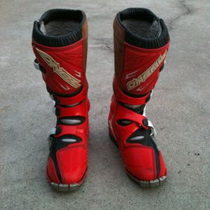 O'NEIL racing motocross boots size 8 Youth for Sale in Rialto, CA