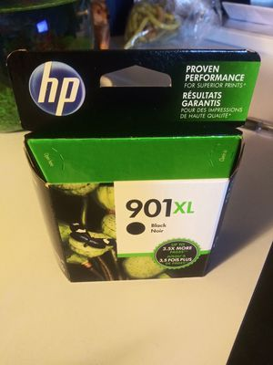 Hp black ink 901xl for Sale in Manteca, CA