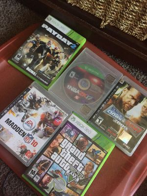 PS3 , Xbox1, Xbox 360 games for Sale in Glendale, AZ