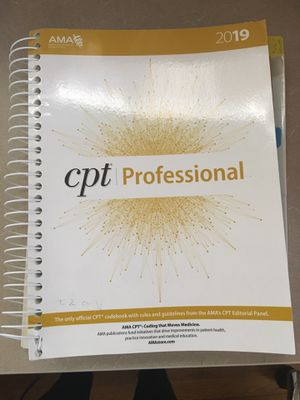 CPT Professional Book for Sale in New Britain, CT