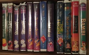 12 Disney VHS for Sale in Kinston, NC