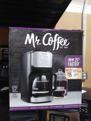 Mr coffee maker in box for Sale in Modesto, CA