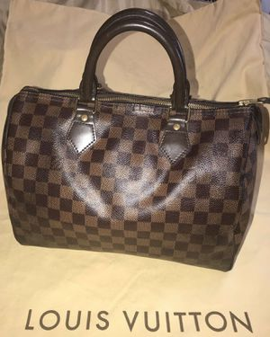 LOUIS VUITTION SPEEDY 30 AUTHENTIC BAG HAVE VALUE DATE CODE for Sale in Arlington, TX
