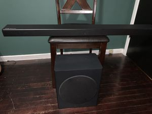 Samsung Harmon Kardon sound bar and subwoofer for Sale in Los Angeles, CA