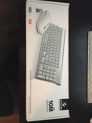 Wireless windows keyboard with numeric keypad and wireless mouse for Sale in Tampa, FL