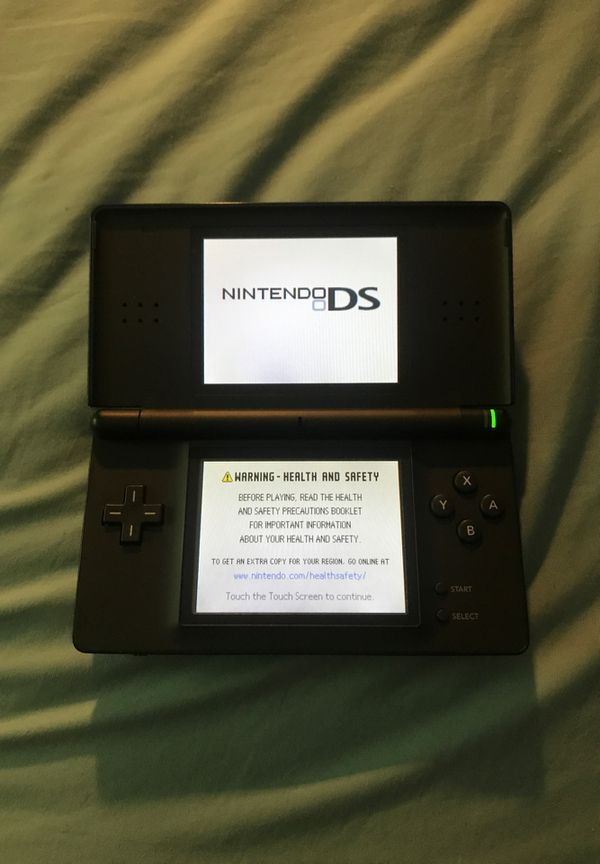 Black/Blue Nintendo DS Lite
