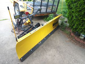 Meyers plow 7ft only used once for Sale in Bristol, PA