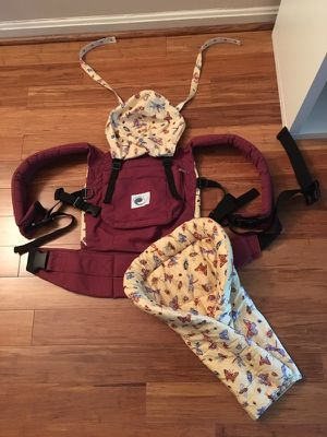 Ergo baby carrier with infant insert for Sale in Fairfax, VA