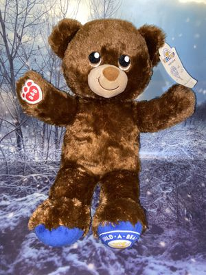 "New Limited edition BUILD A BEAR national teddy bear day 2018 plush 17"" NTBD with tags. for Sale in Paramount, CA"