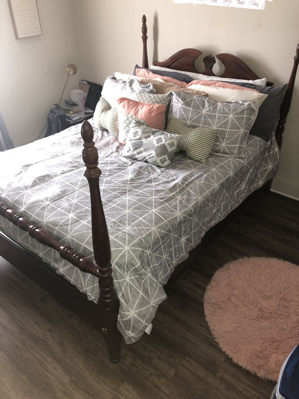 Queen sized Dresser and Bed Frame for sale!
