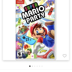 Super Mario Party For Nintendo Switch for Sale in Houston, TX