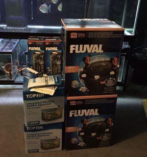 New Aquarium Filters ( FLUVAL) for Sale in Philadelphia, PA