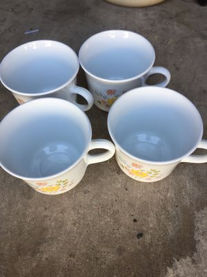 Corningware Mugs (4) for Sale in Henderson, NV