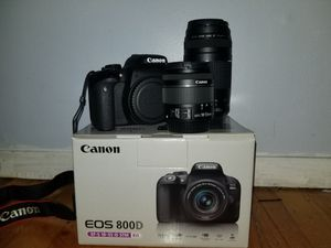 Canon t7i/800d for Sale in Rockaway, NJ