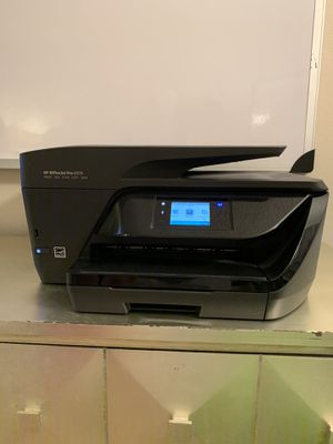 HP office jet Pro Wireless Printer, Copier, Scanner, Fax-Picture Printing for Sale in Newport Beach, CA