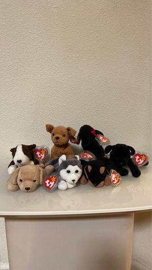Dog beanie babies for Sale in San Leandro, CA