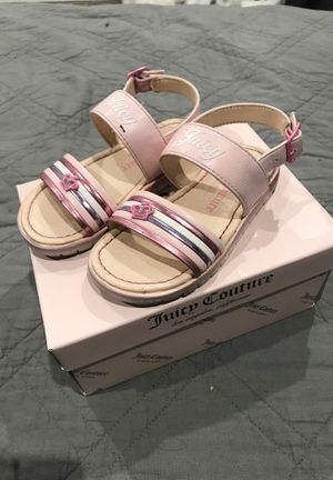 Juicy Couture Baby Sandals for Sale, used for sale  Lake View Terrace, CA