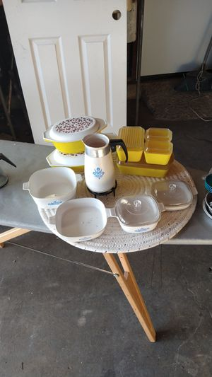 THESE ARE TOYS 36 Vintage Playtime Pyrex Dishes for Sale in Paramount, CA