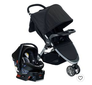 Stroller and car seat - Gray/Black for Sale in Miami, FL