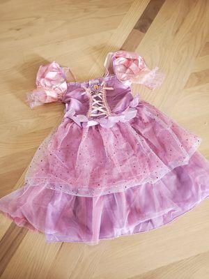 Rapunzel dress size 4 for Sale in Oak Lawn, IL