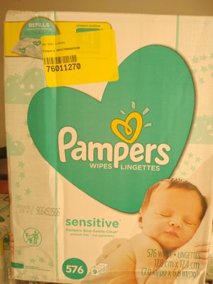 Pampers wipes for Sale in Conyers, GA