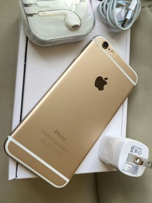 Iphone 6, 64GB - excellent condition, factory unlocked, clean IMEI, includes new box & accessories for Sale in Springfield, VA