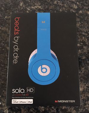 Beats Solo HD Heaphones for Sale in Chicago, IL