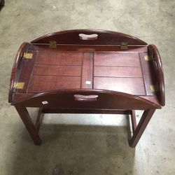 Coffee Table Tray Table with Stand for Sale in Chula Vista,  CA
