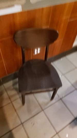 Chairs with the table for Sale in Norfolk, VA