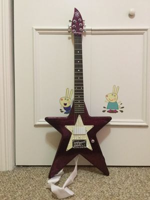 Used, Purple Electric Guitar Like New Brand is Daisy Rock Comes with case, amplifier for Sale for sale  Miramar, FL