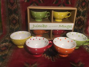 Jumbo teacup mugs for Sale in North Olmsted, OH