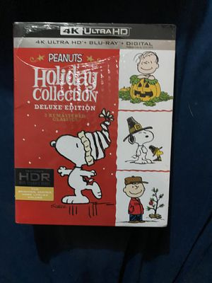 The Peanuts Holiday Collection [Includes Digital Copy] [4K Ultra HD Blu-ray] for Sale in Chicago, IL