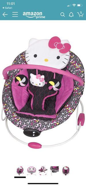 Baby Trend Hello Kitty Bouncer for Sale in Seal Beach, CA