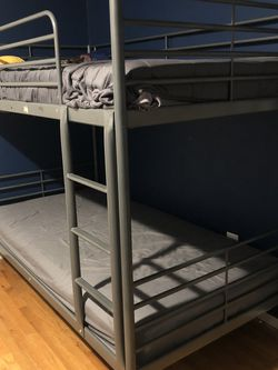 Metal Single Bunk Bed for Sale in New Brunswick,  NJ